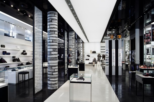 Virginia Duran Blog- 20 Amazing Fashion Stores Designed by Famous Architects- Chanel by Peter Marino Store Interior
