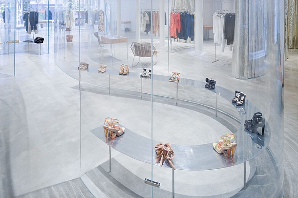Virginia Duran Blog- 20 Amazing Fashion Stores Designed by Famous Architects- Derek Lam Store SANAA Interior 2