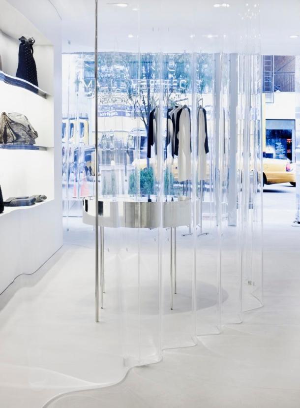 Virginia Duran Blog- 20 Amazing Fashion Stores Designed by Famous Architects- Derek Lam Store SANAA