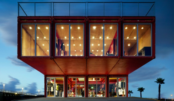 Virginia Duran Blog- 20 Amazing Fashion Stores Designed by Famous Architects- Puma City by LOT-ek interior
