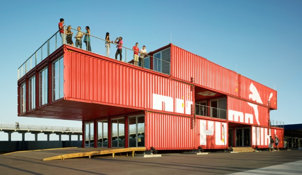 Virginia Duran Blog- 20 Amazing Fashion Stores Designed by Famous Architects- Puma City by LOT-ek