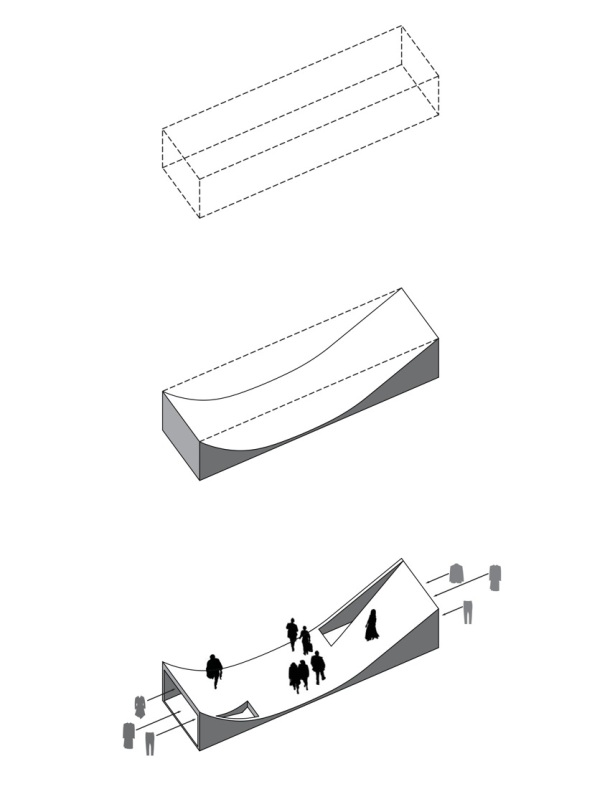 Virginia Duran Blog- 20 Amazing Fashion Stores Designed by Famous Architects- Siki by Leong Leong axonometry diagram