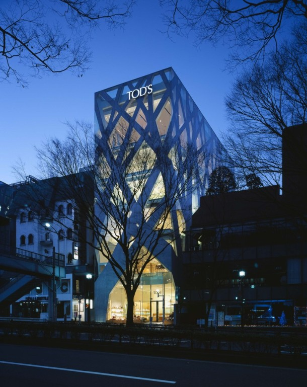 Virginia Duran Blog- 20 Amazing Fashion Stores Designed by Famous Architects- TODS by Toyo Ito