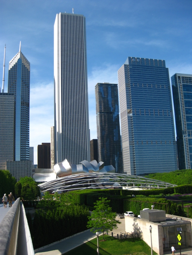 Virginia Duran Blog- Chicago Best Buildings for Architects - Aon Center by Edward Durell Stone and Perkins and Will From Art Institute