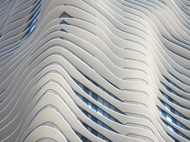 Virginia Duran Blog- Chicago Best Buildings for Architects - Aqua Tower by Studio Gang Corner