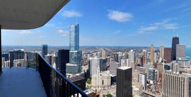 Virginia Duran Blog- Chicago Best Buildings for Architects - Aqua Tower by Studio Gang Skyline Views