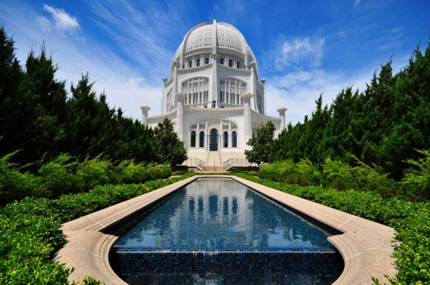 Virginia Duran Blog- Chicago Best Buildings for Architects - Bahai Temple