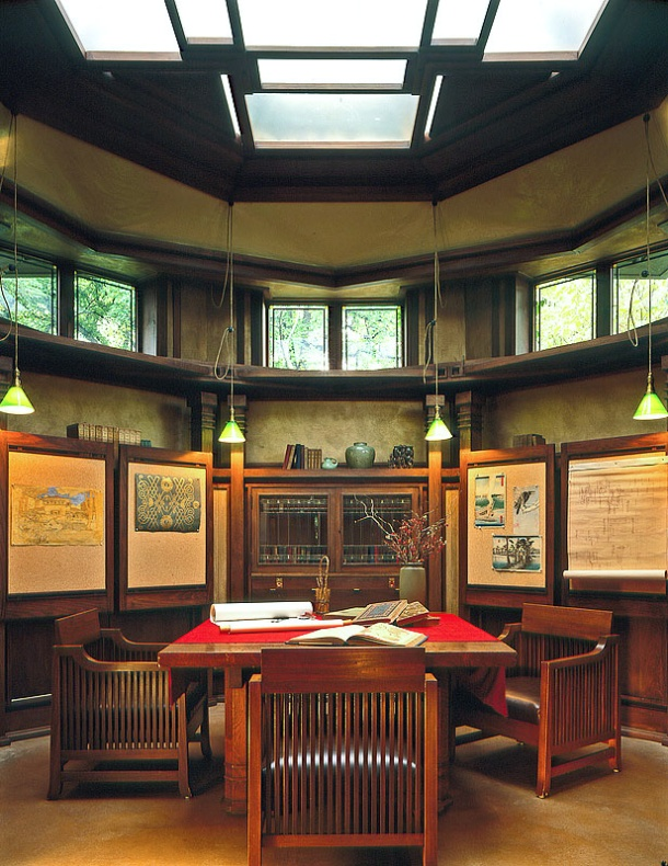 Virginia Duran Blog- Chicago Best Buildings for Architects - Frank Lloyd Wright Studio House- Studio