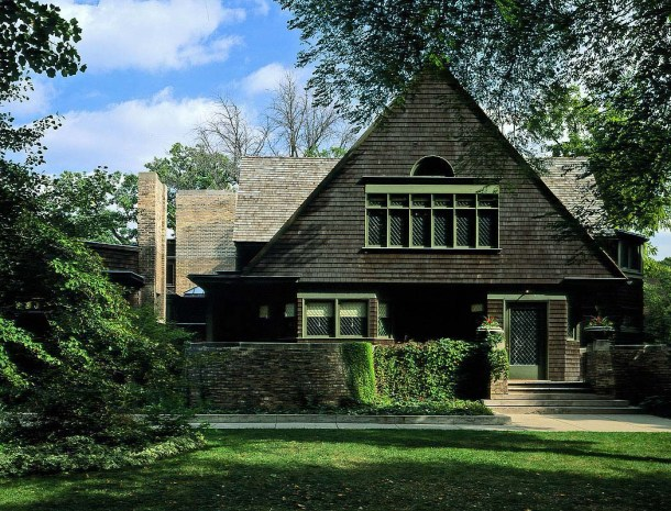 Virginia Duran Blog- Chicago Best Buildings for Architects - Frank Lloyd Wright Studio House