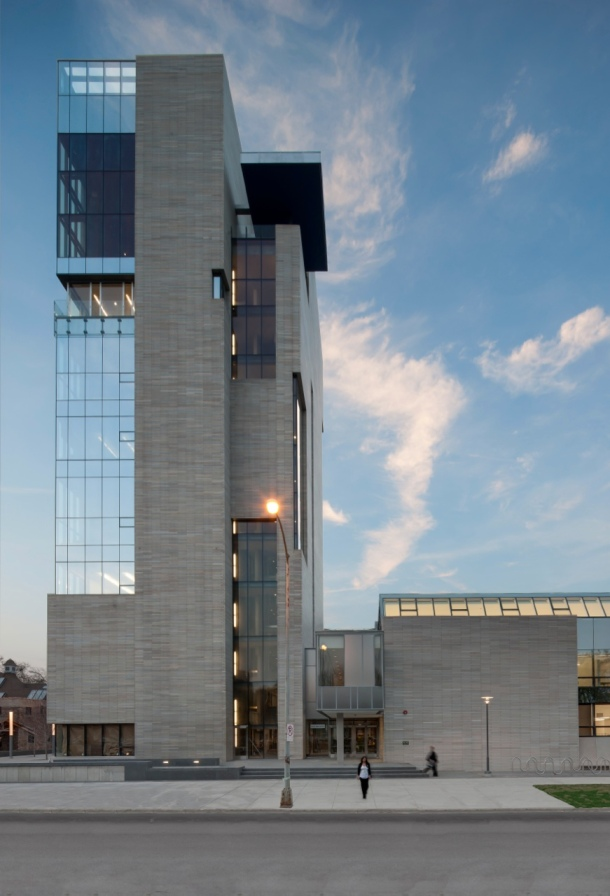 Virginia Duran Blog- Chicago Best Buildings for Architects - Logan Center University of Chicago by Tod Williams and