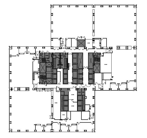 Virginia Duran Blog- Chicago Best Buildings for Architects - Sears Tower by SOM Floor Plan
