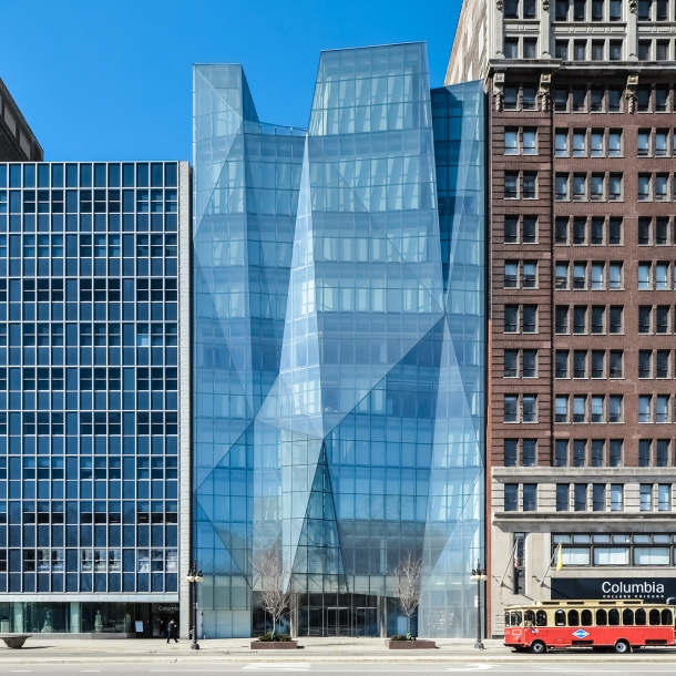 Virginia Duran Blog- Chicago Best Buildings for Architects - Spertus Institute of Jewish Studies by Krueck