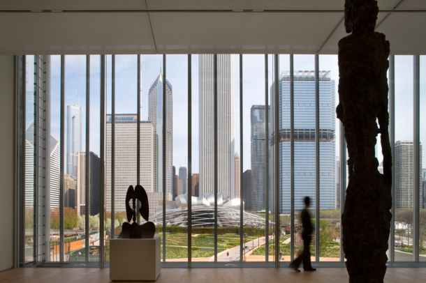 Virginia Duran Blog- Chicago Best Buildings for Architects - The Art Institute by Renzo Piano- Skyline Views