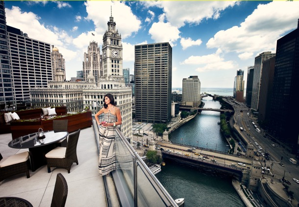 Virginia Duran Blog- Chicago Best Buildings for Architects - Trump Tower Restaurant