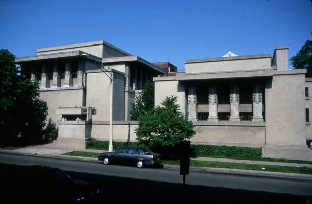 Virginia Duran Blog- Chicago Best Buildings for Architects - Unity Temple by Frank Lloyd Wright Exterior