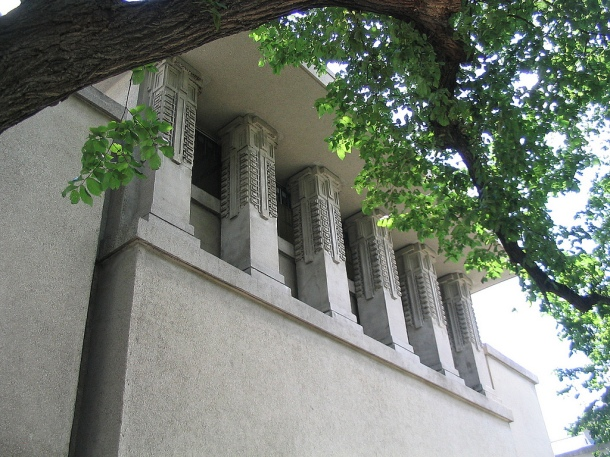 Virginia Duran Blog- Chicago Best Buildings for Architects - Unity Temple by Frank Lloyd Wright
