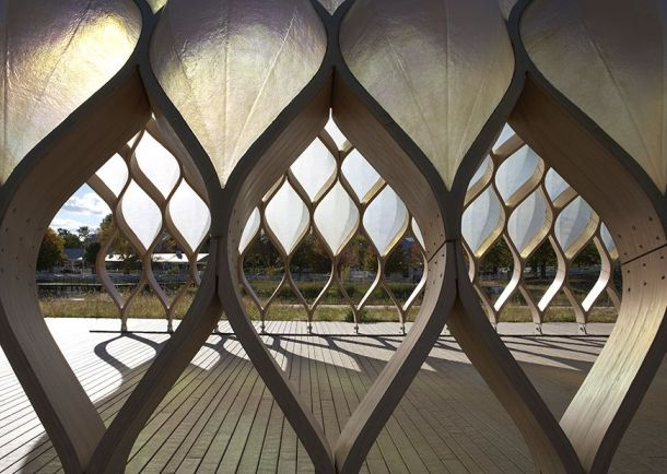 Virginia Duran Blog- Chicago Best Buildings for Architects - Wood Pavilion by Studio Gang Detail 1