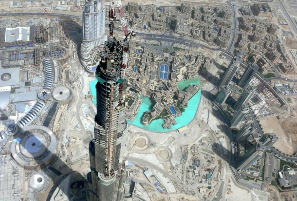 Virginia Duran Blog- Photography 10 Great Buildings Under Construction- Burj Khalifa 2