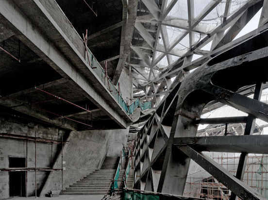 Virginia Duran Blog- Photography 10 Great Buildings Under Construction- Guangzhou Opera House by Zaha Hadid Architects 2