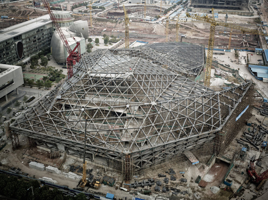 Virginia Duran Blog- Photography 10 Great Buildings Under Construction- Guangzhou Opera House by Zaha Hadid Architects
