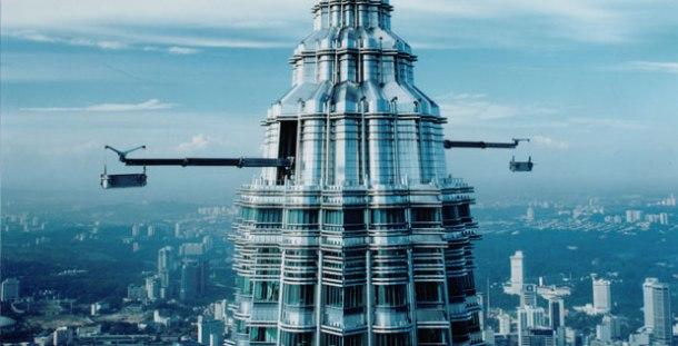 Virginia Duran Blog- Photography 10 Great Buildings Under Construction- Petronas Towers by Cesar Pelli 2 detail 2