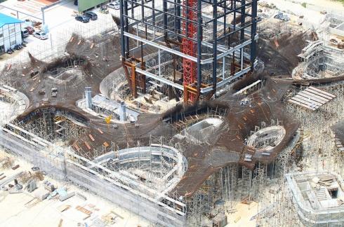 Virginia Duran Blog- Photography 10 Great Buildings Under Construction- Taichung Metropolitan Opera House by Toyo Ito