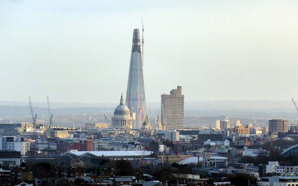 Virginia Duran Blog- Photography 10 Great Buildings Under Construction- The Shard by Renzo Piano 2