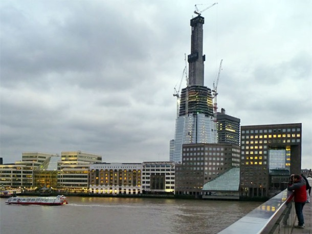 Virginia Duran Blog- Photography 10 Great Buildings Under Construction- The Shard by Renzo Piano
