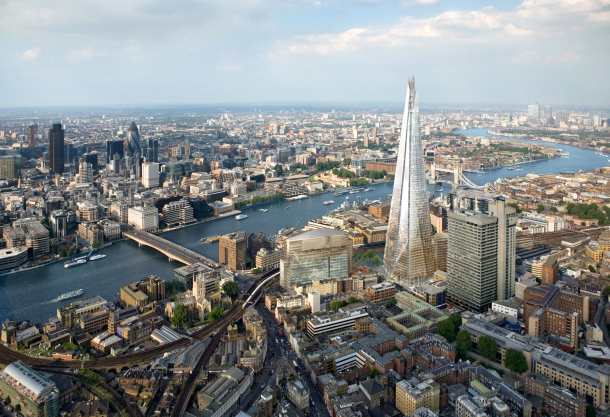 Virginia Duran Blog- Photography 10 Great Buildings Under Construction- The Shard by Renzo Piano-