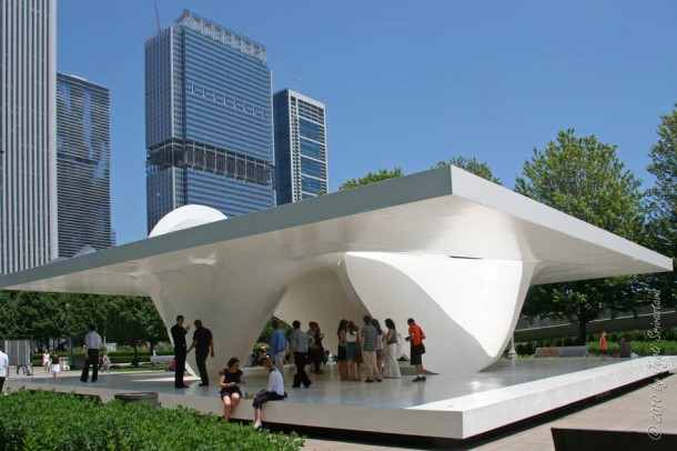 Virginia Duran Blog- Photography 10 Great Buildings Under Construction- UN Studio Pavilion Chicago Final exterior