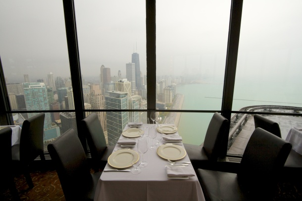 Virginia Duran Blog- Chicago Best Skyline Views- Lake Point Tower Restaurant Inside