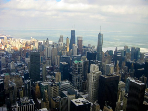Virginia Duran Blog- Chicago Best Skyline Views- Sears Tower Views