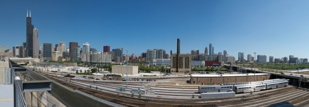 Virginia Duran Blog- Chicago Best Skyline Views- Whole Foods South Loop Panorama