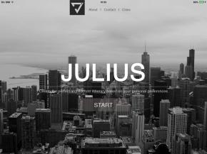 Julius, we've madeit!