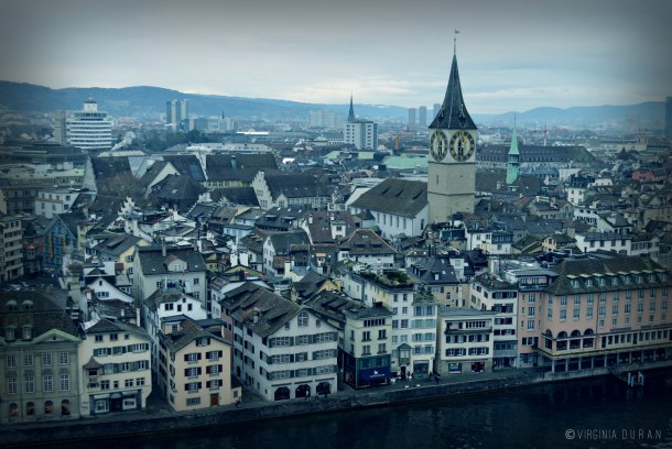 Virginia Duran Blog- 5 Skyline Photographs of Zurich- St Peterskirche - Prime Tower- Hardau Apartments 2