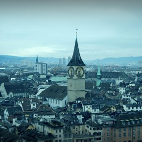 5 Skyline Photographs of Zürich