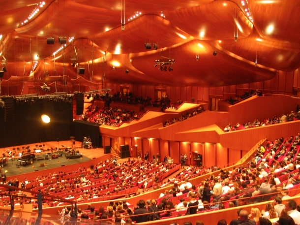 Virginia Duran Blog- The 8 Newest Buildings of Rome- Auditorium Parco della Musica- Renzo Piano- Interior