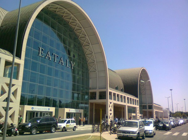 Virginia Duran Blog- The 8 Newest Buildings of Rome- Eataly by Julio Lafuente exterior