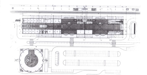 Virginia Duran Blog- The 8 Newest Buildings of Rome- Eataly by Julio Lafuente Floor Plan