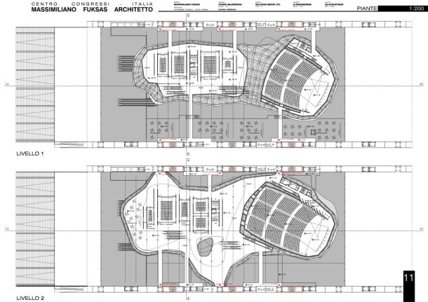 Virginia Duran Blog- The 8 Newest Buildings of Rome- La Nuvola by Fuksas 2014 Floor Plan