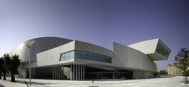 Virginia Duran Blog- The 8 Newest Buildings of Rome- MAXXI by Zaha Hadid- exterior