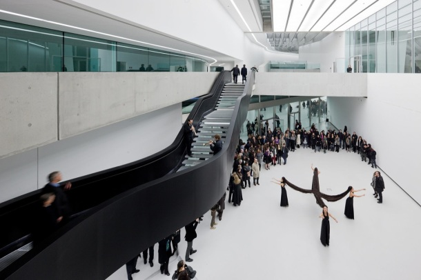 Virginia Duran Blog- The 8 Newest Buildings of Rome- MAXXI by Zaha Hadid- interior