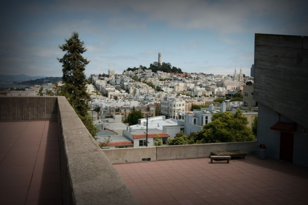 Virginia Duran Blog- 10 Sites To Take The Best Skyline Pictures in San Francisco- Art Institute Rooftop
