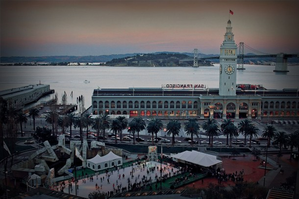 Virginia Duran Blog- 10 Sites To Take The Best Skyline Pictures in San Francisco- Hyatt Ferry Building