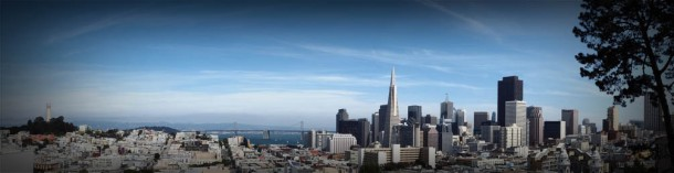 Virginia Duran Blog- 10 Sites To Take The Best Skyline Pictures in San Francisco- Ina Coolbrith Park Panorama