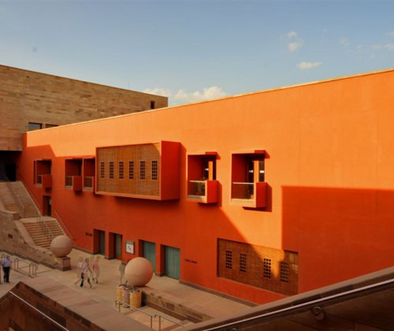 Virginia Duran Blog- Amazing and Colorful Buildings- American University Of Cairo Campus Center by Legorreta Legorreta
