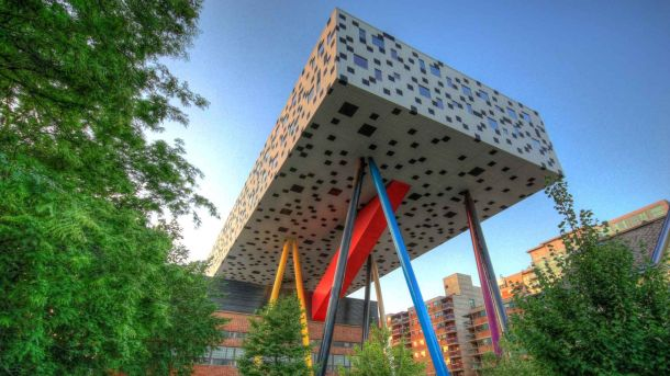 Virginia Duran Blog- Amazing and Colorful Buildings- College of Art and Design of Toronto by Aslop Architects