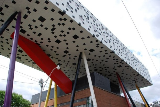 Virginia Duran Blog- Amazing and Colorful Buildings- College of Art and Design of Toronto by Aslop Architects-