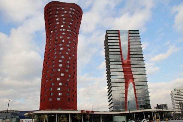 Virginia Duran Blog- Amazing and Colorful Buildings- Hotel in Barcelona by Toyo Ito