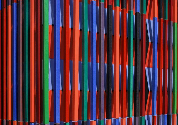 Virginia Duran Blog- Amazing and Colorful Buildings- Museum Brandhorst by Sauerbruch Hutton Detail